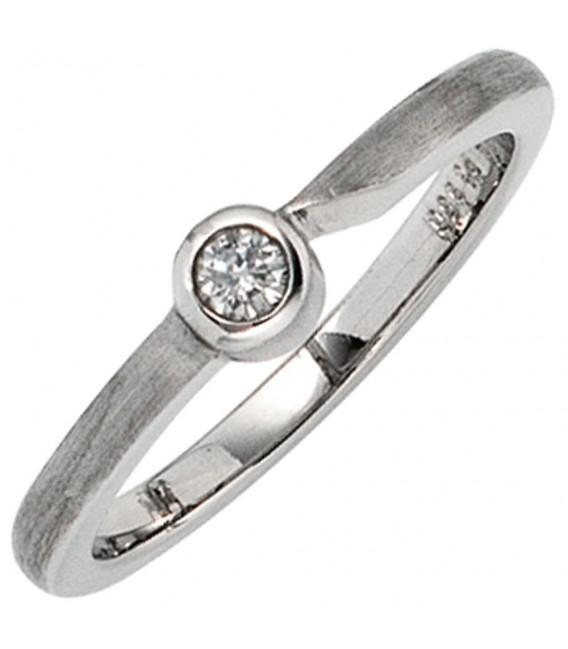 Damen Ring 950 Platin - 4053258232644