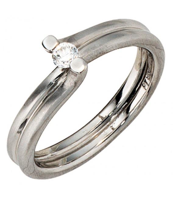 Damen Ring 950 Platin - 4053258043615