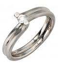 Damen Ring 950 Platin - 35725