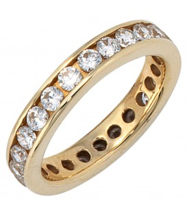 Damen Ring 333 Gold - 4053258047743