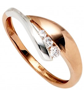 Damen Ring 375 Gold - 4053258233900