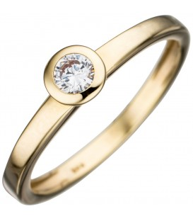 Damen Ring 333 Gold - 4053258280706