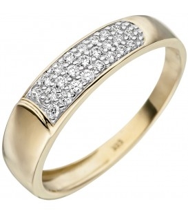 Damen Ring 333 Gold - 4053258333617 Produktbild