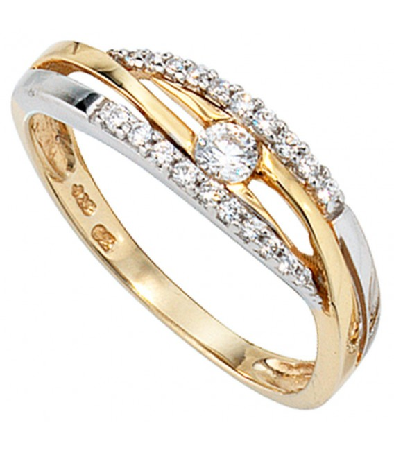 Damen Ring 333 Gold - 4053258046906