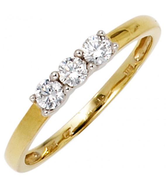 Damen Ring 333 Gold - 4053258234082