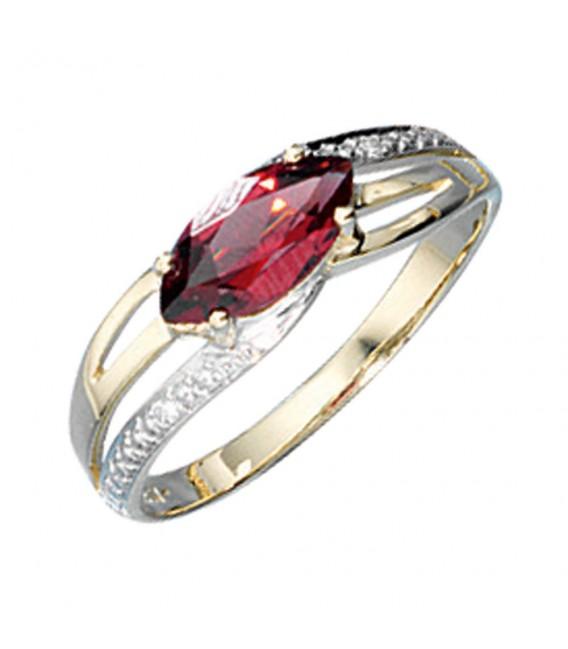 Damen Ring 585 Gold - 4053258049143