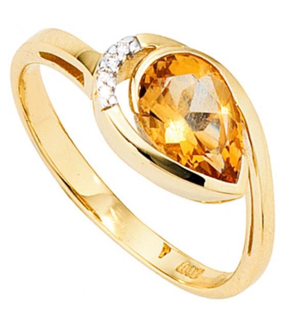 Damen Ring 585 Gold - 4053258053041