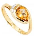 Damen Ring 585 Gold - 37817