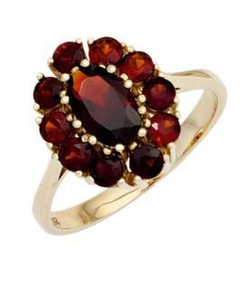 Damen Ring 375 Gold - 4053258249703