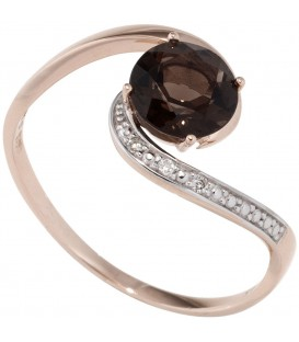 Damen Ring 585 Rotgold - 4053258290446
