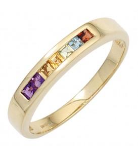Damen Ring 585 Gelbgold - 4053258250792