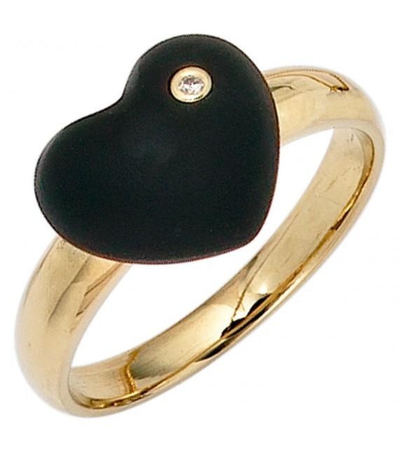 Damen Herz Ring 585 - 4053258235102