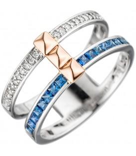 Damen Ring breit 585 - 4053258288474 Produktbild