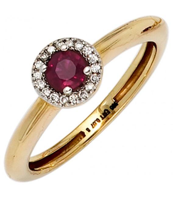Damen Ring 585 Gold - 4053258235461