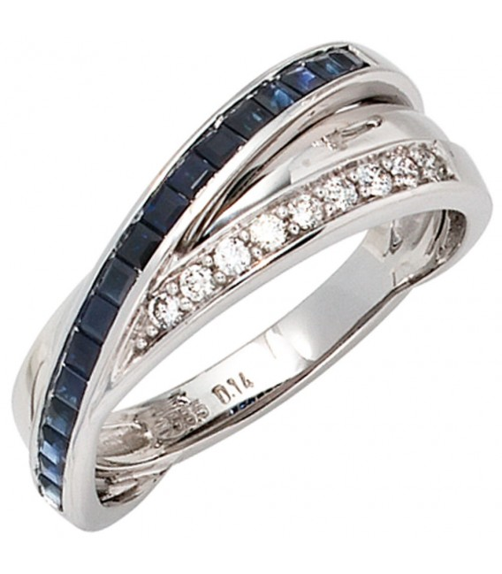 Damen Ring 585 Gold - 4053258056257