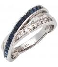 Damen Ring 585 Gold - 27113
