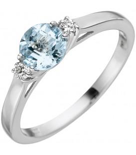 Damen Ring 585 Weißgold - 4053258330814 Produktbild
