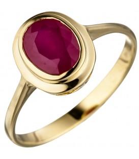Damen Ring oval 585 - 4053258320877