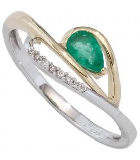 Damen Ring 585 Weißgold - 4053258286654