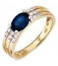 Damen Ring 585 Gold - 49659