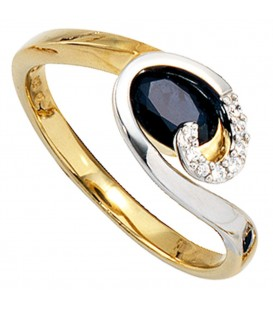 Damen Ring 585 Gold - 4053258057049