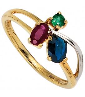 Damen Ring 585 Gold - 4053258235409