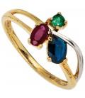 Damen Ring 585 Gold - 39774