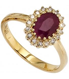 Damen Ring 585 Gold - 4053258236000