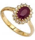 Damen Ring 585 Gold - 39818