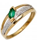 Damen Ring 585 Gold - 39780