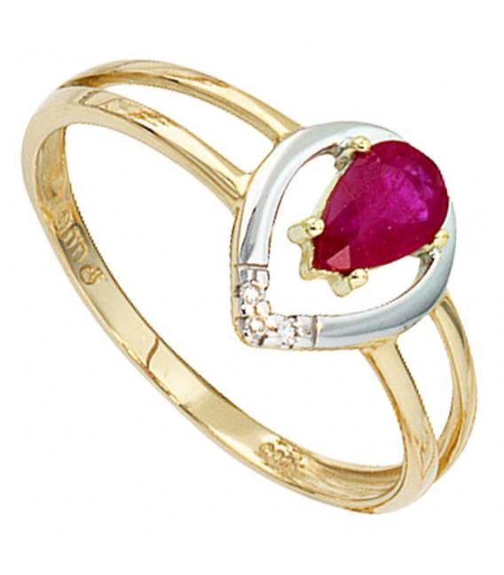 Damen Ring 585 Gold - 4053258056882