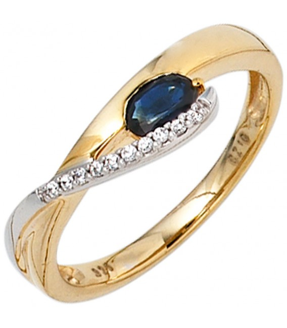 Damen Ring 333 Gold - 4053258235768