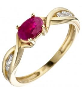 Damen Ring 333 Gold - 4053258306413