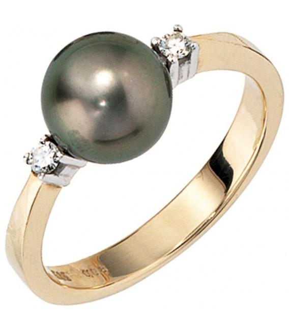 Damen Ring 585 Gold - 4053258058879