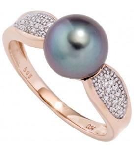 Damen Ring 585 Rotgold - 4053258289389