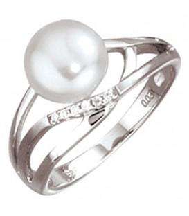 Damen Ring 585 Gold - 4053258059197