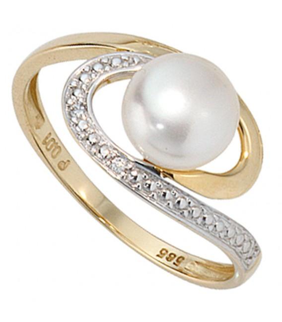 Damen Ring 585 Gold - 4053258060391