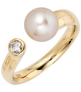 Damen Ring 585 Gold - 4053258060568