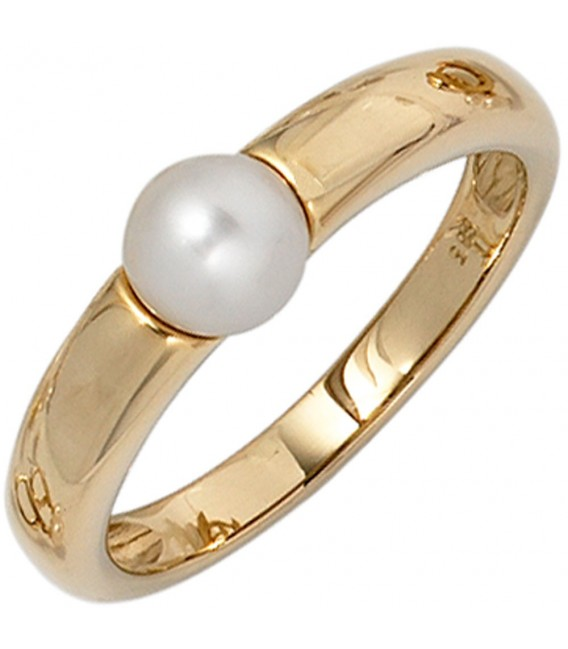 Damen Ring 585 Gold - 4053258236420