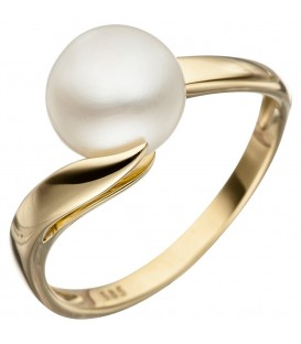 Damen Ring 585 Gold - 4053258313824