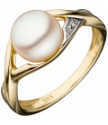 Damen Ring 585 Gold - 44043