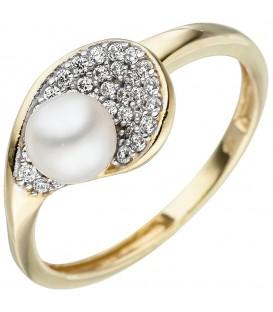 Damen Ring 375 Gold - 4053258331996