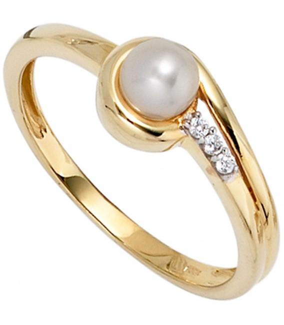 Damen Ring 333 Gold - 4053258236963