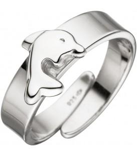Kinder Ring Delfin 925 - 4053258324547