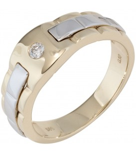 Herren Ring 585 Gold - 4053258290286