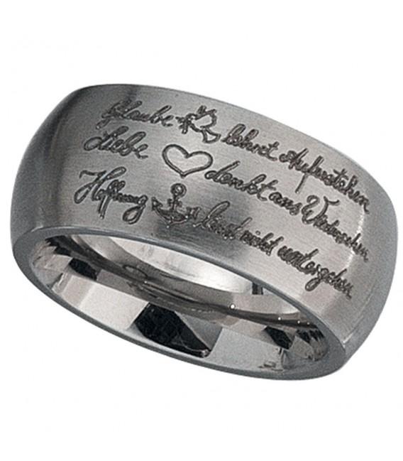 Partner Ring breit Glaube - 4053258087572