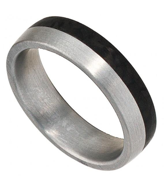 Partner Ring Edelstahl mattiert - 4053258087503