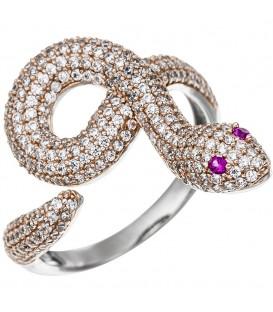 Damen Ring Schlange 925 - 4053258327517