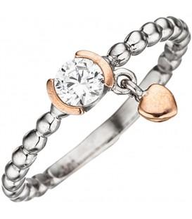 Damen Ring Kugel 925 - 4053258292686