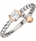 Damen Ring Kugel 925 - 44962